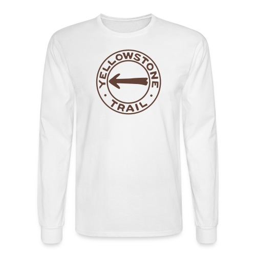 Yellowstone Trail - Men's Long Sleeve T-Shirt