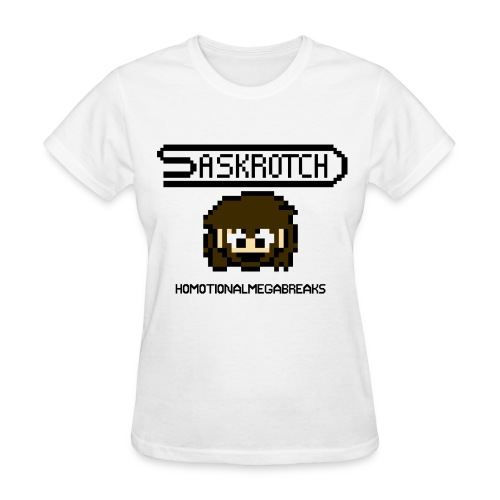 Saskrotch Homotional Mega Breaks - Women's T-Shirt