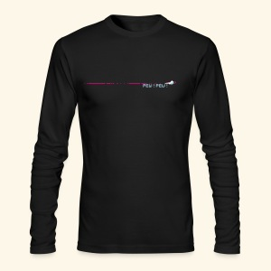 PewPew (neon) - Men's Long Sleeve T-Shirt by Next Level