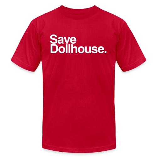 Save Dollhouse. (Mens)  - Men's Fine Jersey T-Shirt