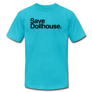 Save Dollhouse. (Mens)  - Men's T-Shirt by American Apparel