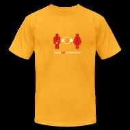 T-Shirts ~ Men's T-Shirt by American Apparel ~ Adam's Rib