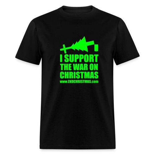 War on Christmas - Men's T-Shirt