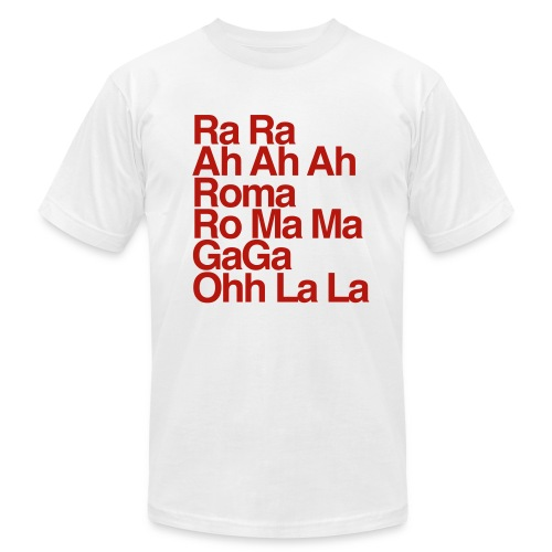 GaGa Ohh La La - Men's Fine Jersey T-Shirt