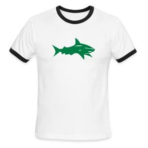 Shark AA lightweight tee - Men's Ringer T-Shirt
