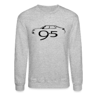 Long Sleeve Shirts ~ Crewneck Sweatshirt ~ Saab 9-5 MY2010