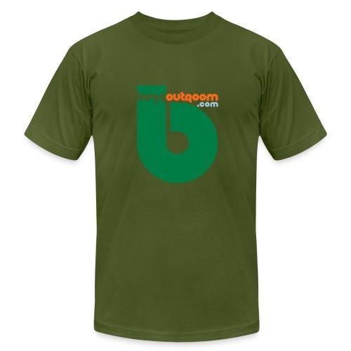 Buzzout Olive - Men's Fine Jersey T-Shirt