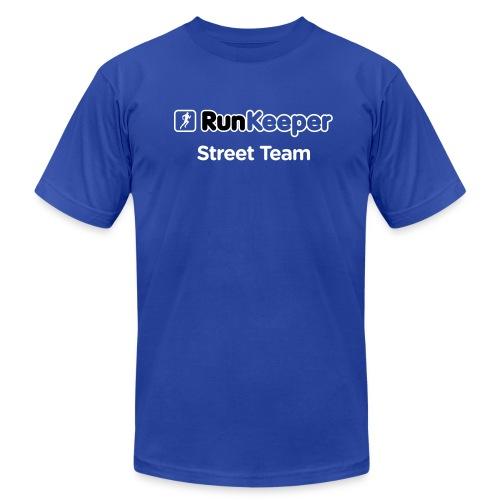 RunKeeper Street Team T-Shirt 2 (American Apparel) - Men's Fine Jersey T-Shirt