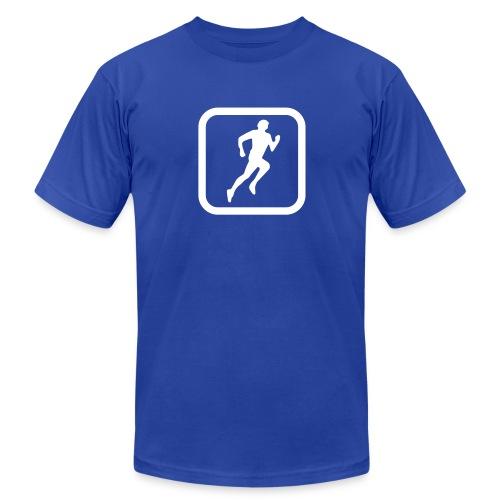 RunKeeper Street Team T-Shirt (American Apparel) - Men's Fine Jersey T-Shirt