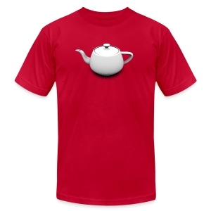 Utah Teapot - American Apparel T-Shirt - Men's T-Shirt by American Apparel