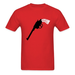 Outlaw - Six Shooter (Men's) - Men's T-Shirt