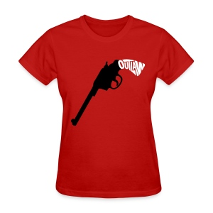 Outlaw - Six Shooter (Women's) - Women's T-Shirt