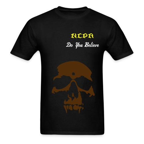 NCPA Black T-Shirt (Men) - Men's T-Shirt
