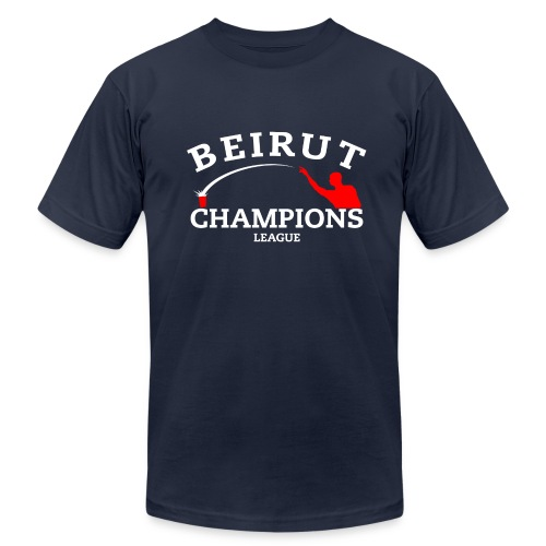 Beruit Champions League - Men's T-Shirt by American Apparel