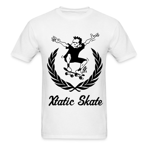 Xtatic Skate T-Shirt White - Men's T-Shirt