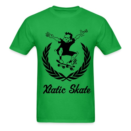 Xtatic Skate T-Shirt Green - Men's T-Shirt