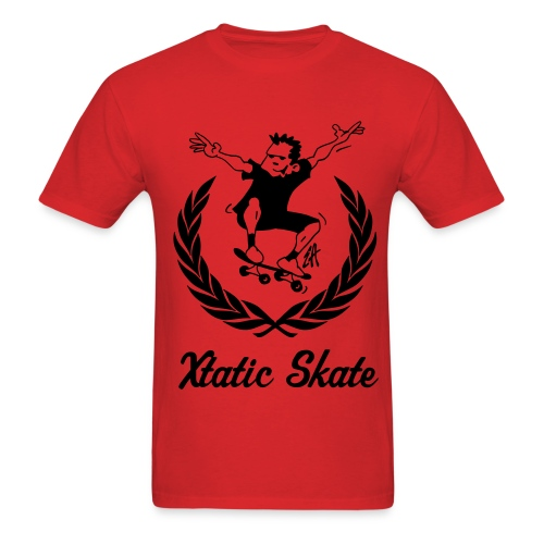 Xtatic Skate T-Shirt Red - Men's T-Shirt