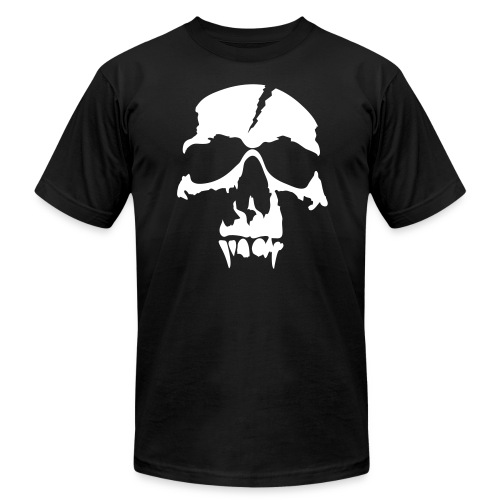 Skull Angel tee - Men's  Jersey T-Shirt