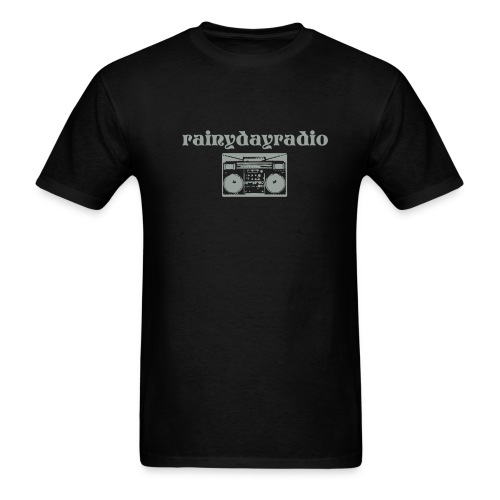 Rainy Day Radio - Men's T-Shirt