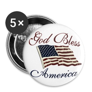 God bless america - Small Buttons