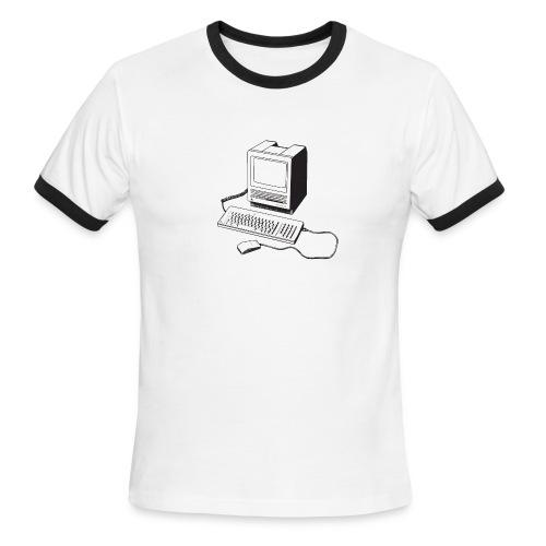 Mac SE30 - Men's Ringer T-Shirt