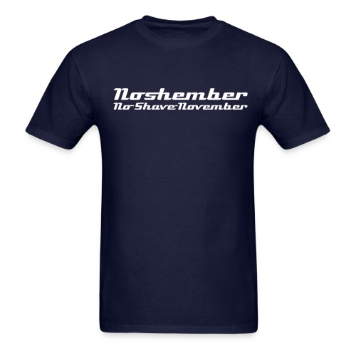 Noshember - No Shave November - Men's T-Shirt
