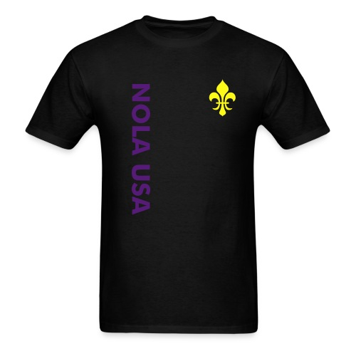 NOLA USA Tee (black) - Men's T-Shirt