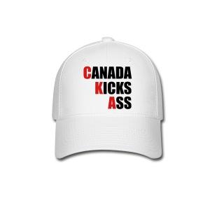 Canada Kicks Ass Vertical - Baseball Cap
