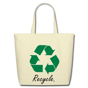 Recycle. - Eco-Friendly Cotton Tote