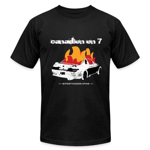 Canadien 7 - noir - T-shirt pour hommes