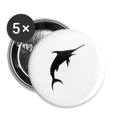 White marlin Buttons