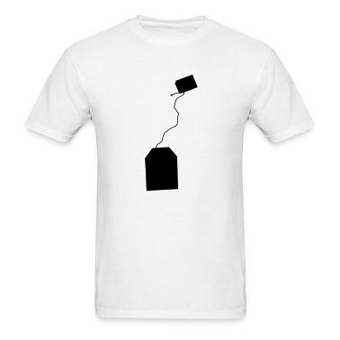 White tea bag T-Shirts