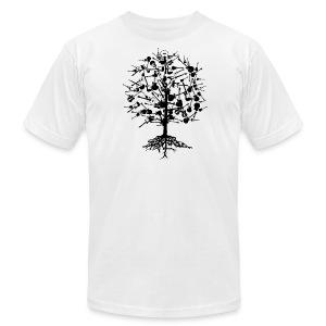 Guitars Tree American Apparel T-Shirt - Men's Fine Jersey T-Shirt