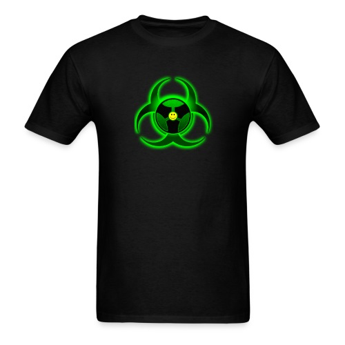 Biohazard Clubbing - Men's T-Shirt