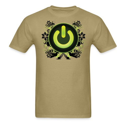 Power Button Clubbing - Men's T-Shirt