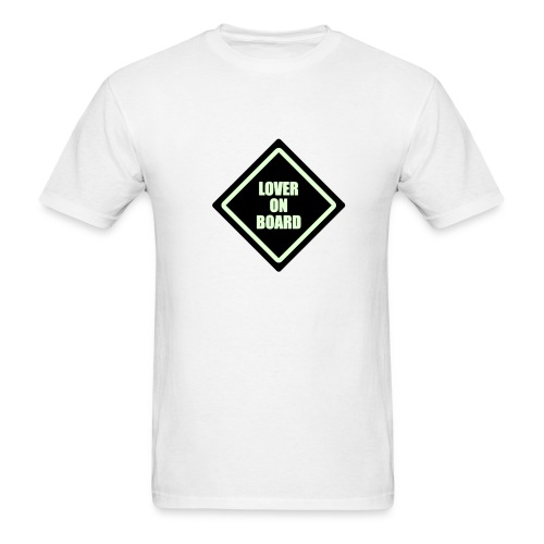 Lover On Board - Men's T-Shirt