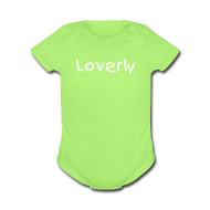 Baby Bodysuits ~ Baby Short Sleeve One Piece ~ Loverly One size