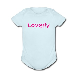 Loverly One size - Short Sleeve Baby Bodysuit