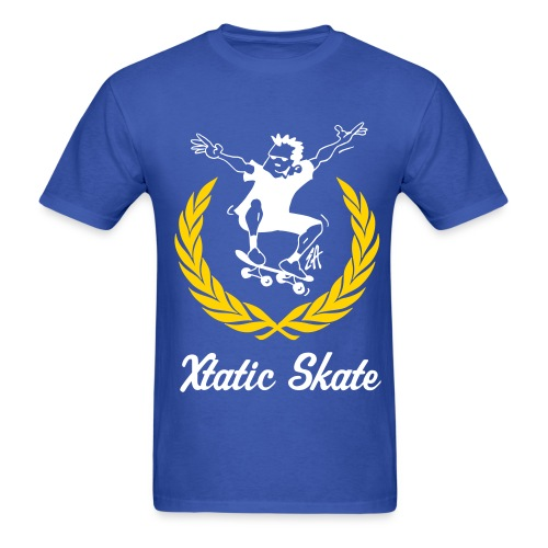 Xtatic Skate T-Shirt Royal Blue - Men's T-Shirt