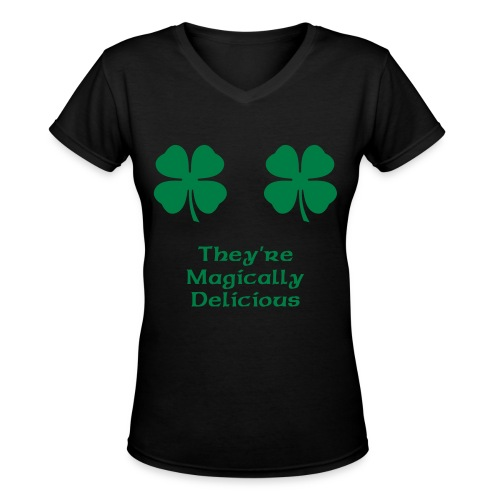 They're Magically Delicious - Women's V-Neck T-Shirt
