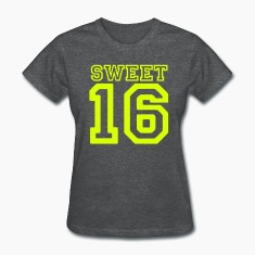 Deep heather sweet 16 Women's T-Shirts