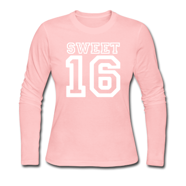 Light pink sweet 16 Long Sleeve Shirts