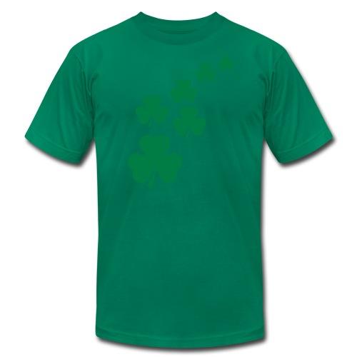 Shamrocks - Men's Fine Jersey T-Shirt