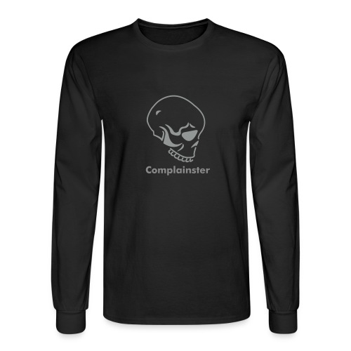 Complainster Skull - Men's Long Sleeve T-Shirt