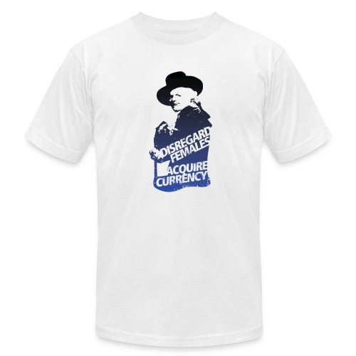 Disregard Females Acquire Currency WHITE - Men's  Jersey T-Shirt