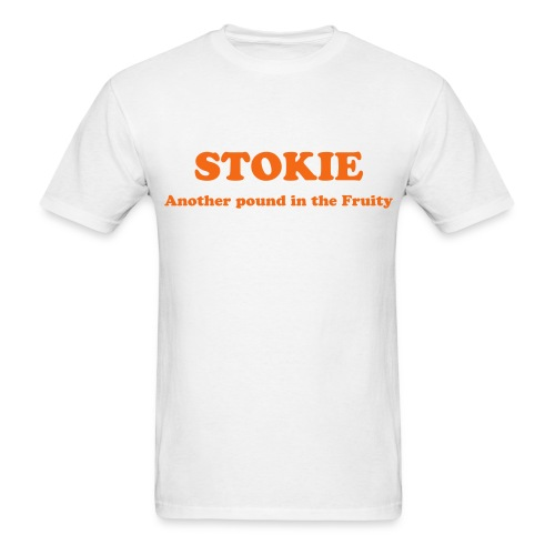 Stokie, Another Pound in the Fruity T-Shirt - Men's T-Shirt