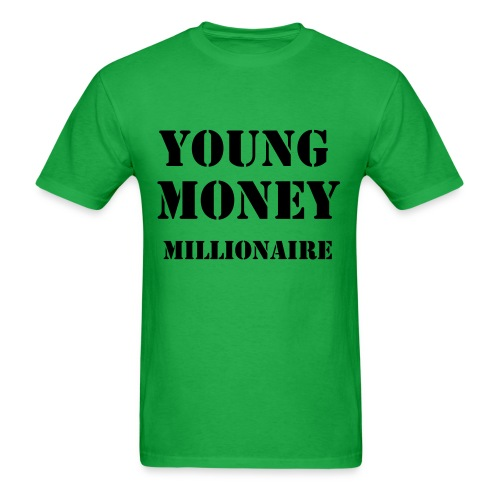 young money millionaire tee - Men's T-Shirt