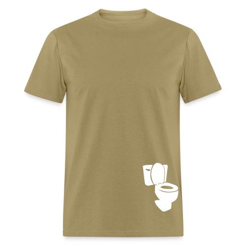 Flush ur complains! 2 - Men's T-Shirt