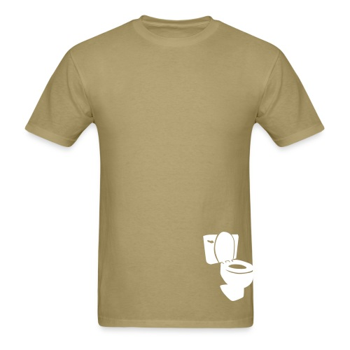 Flush ur complains! 2 - Men's T-Shirt