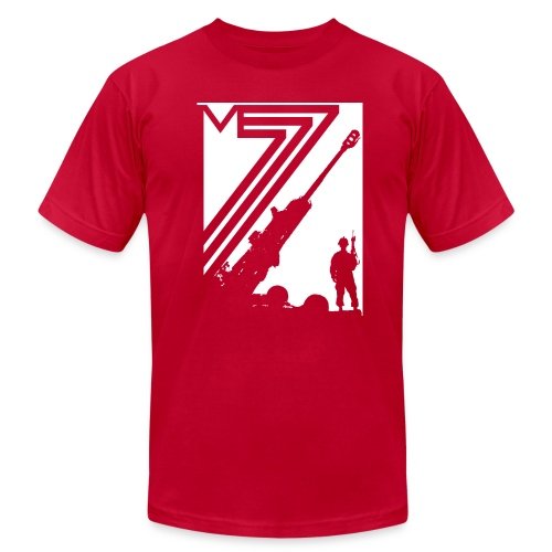 M777 Artillery Tee - Men's Fine Jersey T-Shirt